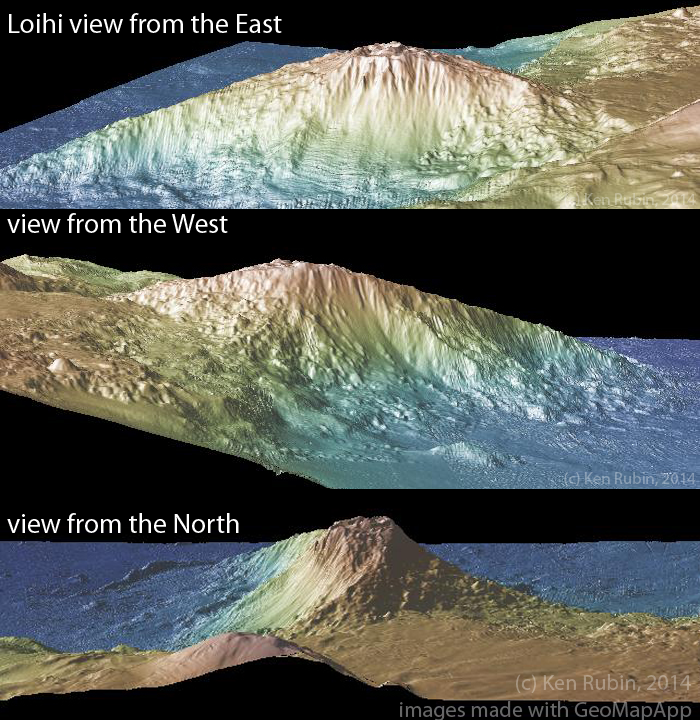 3d views of Loihi
