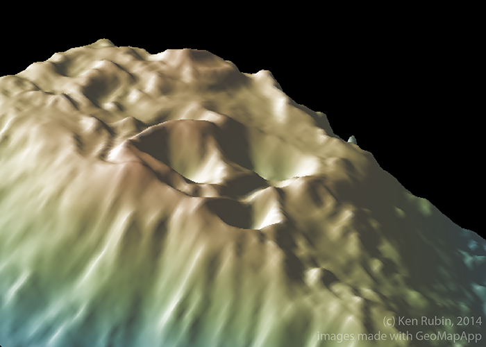 3d view of Loihi summit