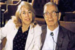 Photo of Thais Freda Bullard and her father, Fred Mason Bullard