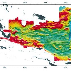 Woodlark Basin: Regional Bathymetry Imagery