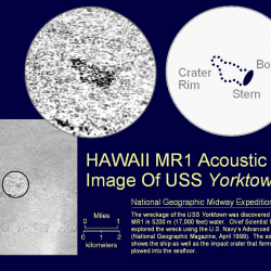 Acoustic Imagery of the USS Yorktown