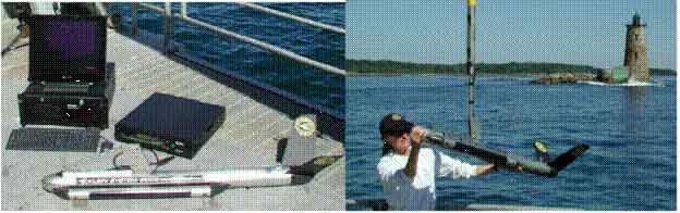 Moden Sidescan Sonar Instrument
