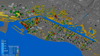 Sea level rise scenario of MHHW plus 3 ft at Waikiki. Click the image for the movie.