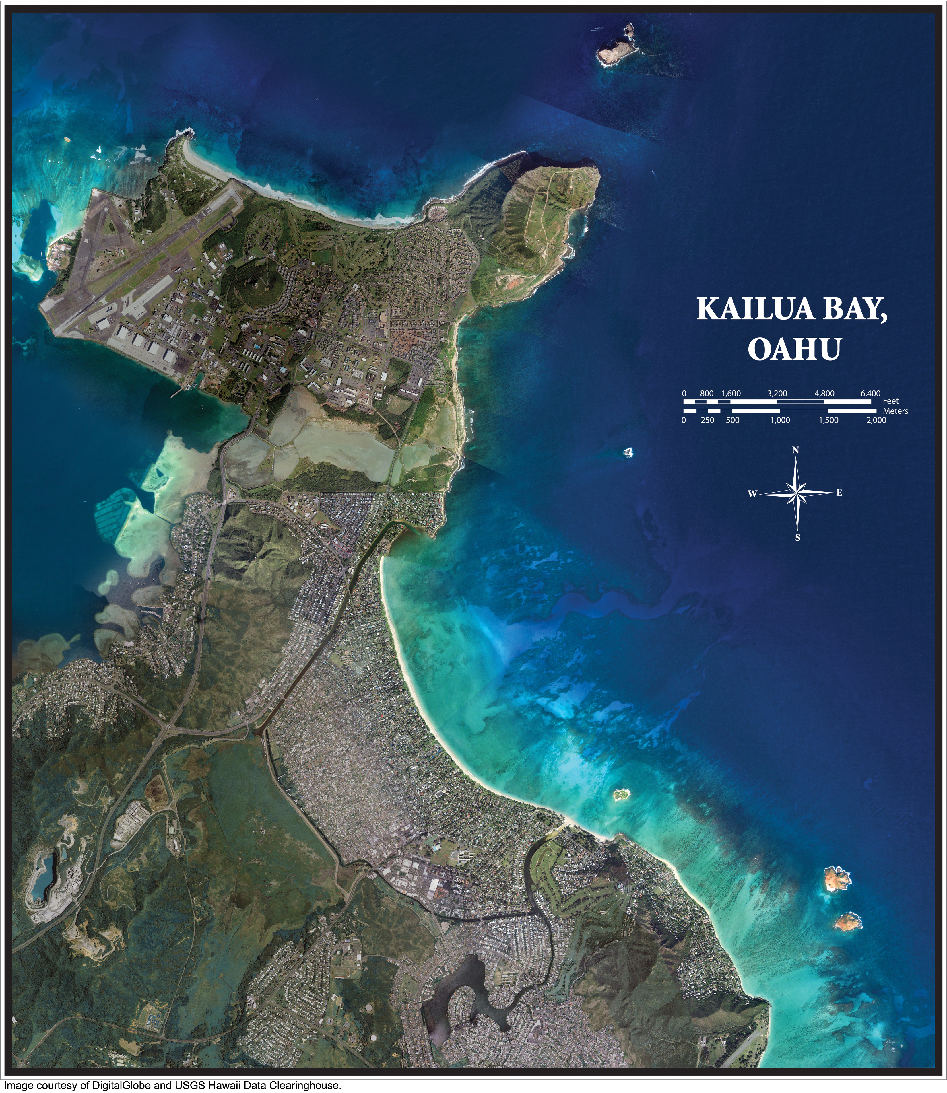 poster kailua bay oahu hawaii coastal geology group