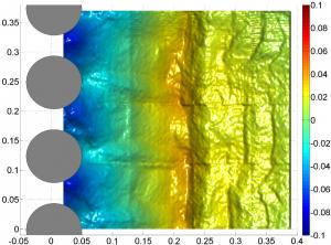 Image of measured bed elevation change