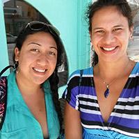 Melanie and Kiana