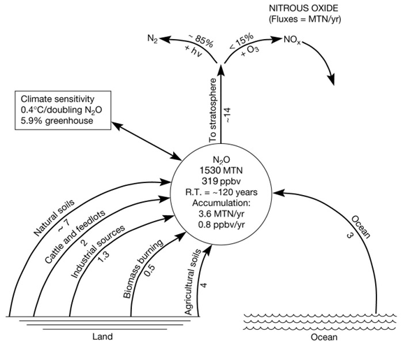 nitrous oxide cycle diagram