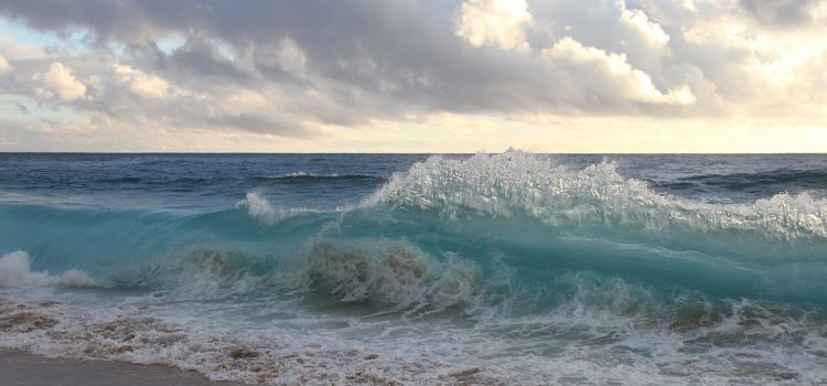 Image of waves on beach