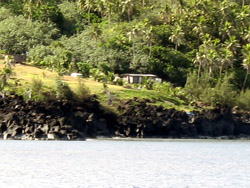 Image of house on Alamagan Island.