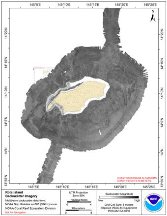 Guam backscatter composite image.