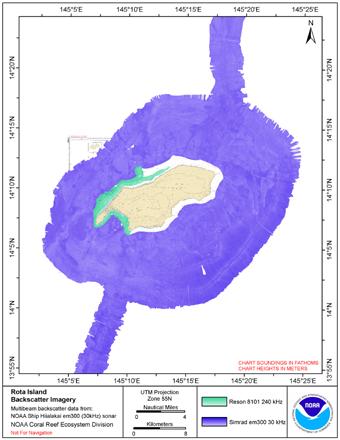 Rota Island backscatter composite image.