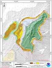 Go to Saipan geomorphology page.