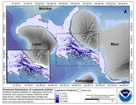 Layout of data on original satellite imagery
