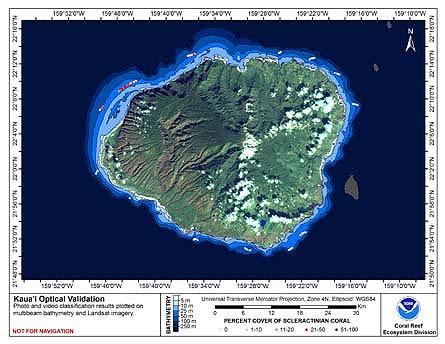 TOAD map for Kaua'i.
