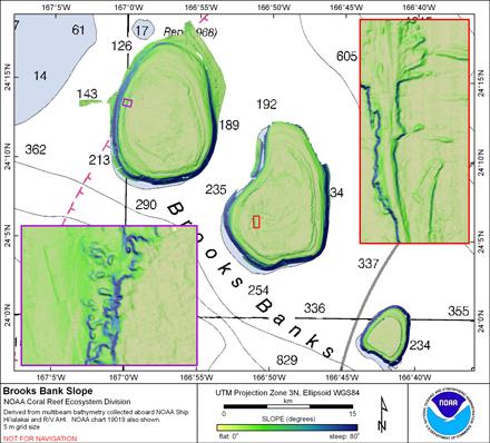 Image map of Brooks slope.