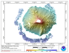 Go to Baker Island bathymetry page.
