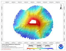 Go to Jarvis bathymetry page.