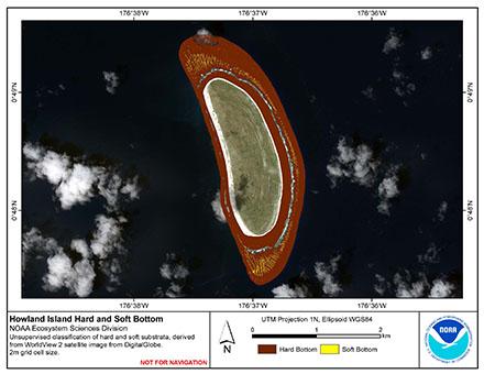 Image map of Howland hard vs. soft map.