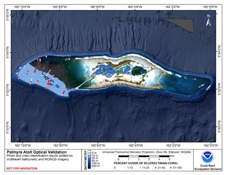 TOAD map for Palmyra Atoll.
