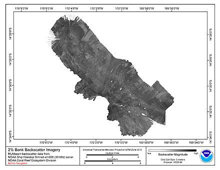 Two Percent Bank Hiialakai Simrad EM300 30 kHz Backscatter Imagery.