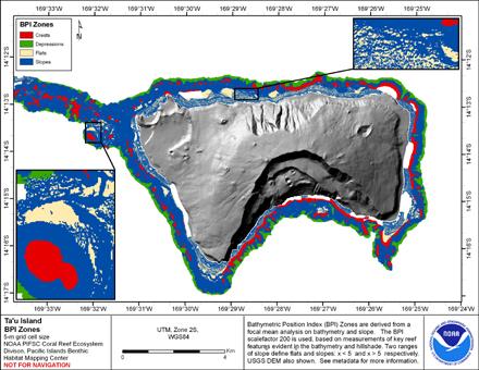 Image map of Tau BPI Zones.