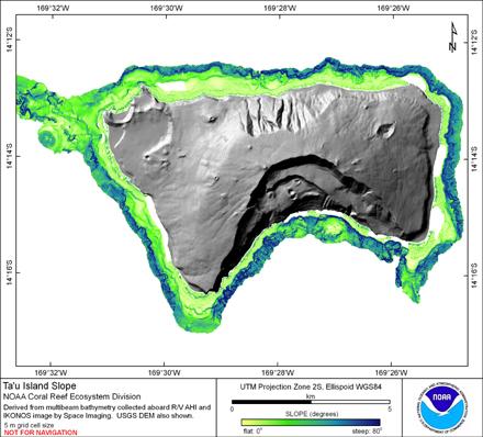 Image map of Tau slope.