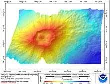 Go to Vailulu'u Seamount bathymetry page.