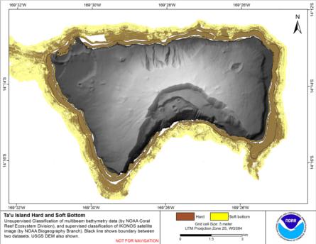 Image map of Ofu-Olosega hard vs. soft map.