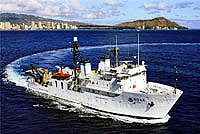 Image of NOAA Ship Hi'ialakai.