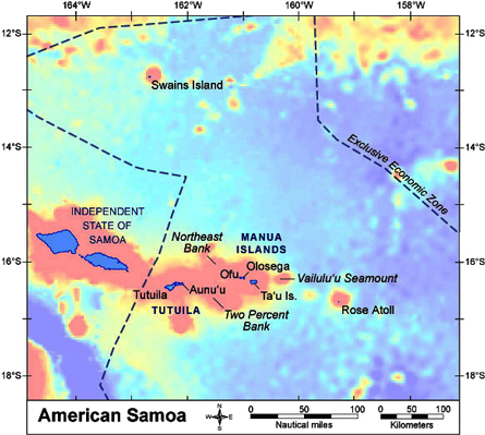 American Samoa | Pacific Islands Benthic Habitat Mapping Center