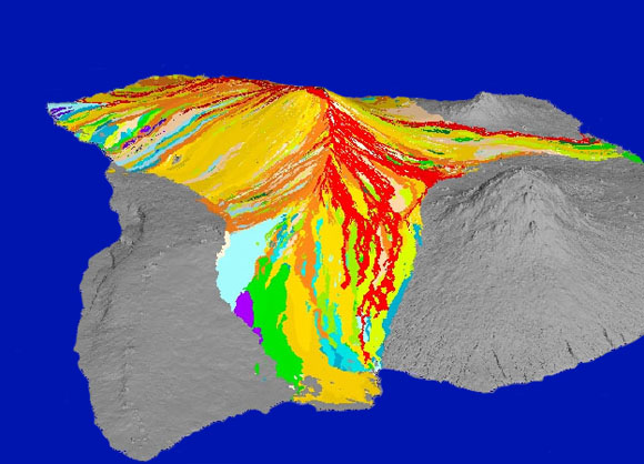 Mauna loa volcano historical mauna loa flows ccuart Image collections