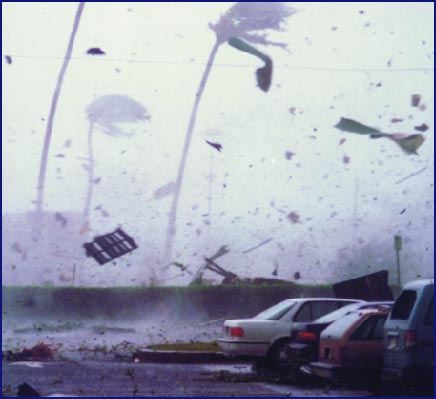 Hurricane Iniki Winds