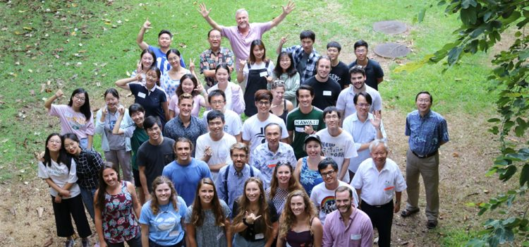 Group photo of ATMO students and faculty 2019