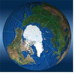 северно ледовитый океан на глобусе фото #4