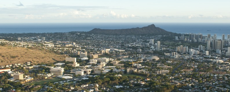UH-Honolulu panorama by Dr Steven Businger