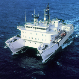 UH research vessel Kilo Moana