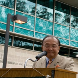 Sen. Inouye video preview, image by David Beales.