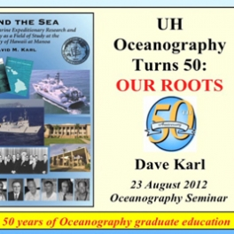 Oceanography at 50 video preview