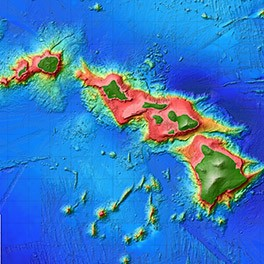 Hawaii multibeam image