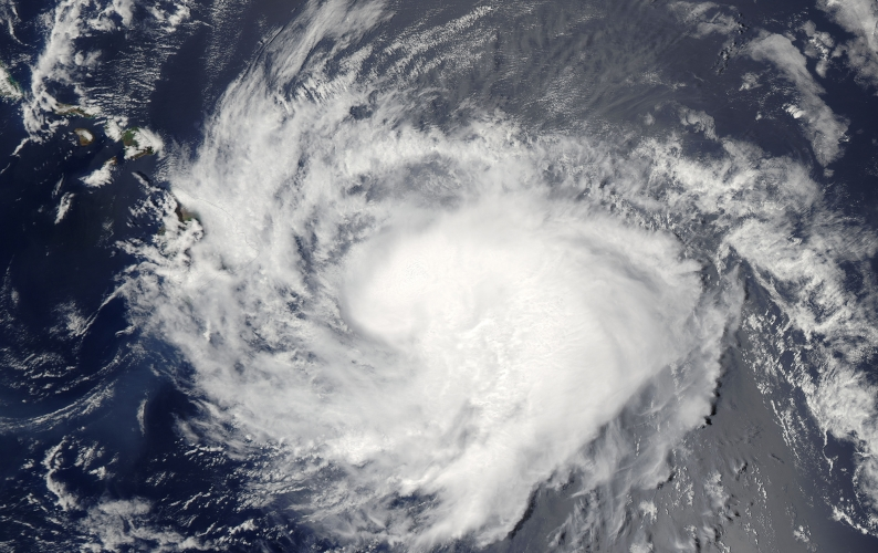 Hurricane Iselle approaching Hawaii