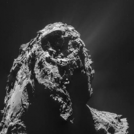 Rosetta image of comet 67P/Churyumov–Gerasimenko