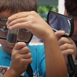 SOEST Open House_magnifying glass