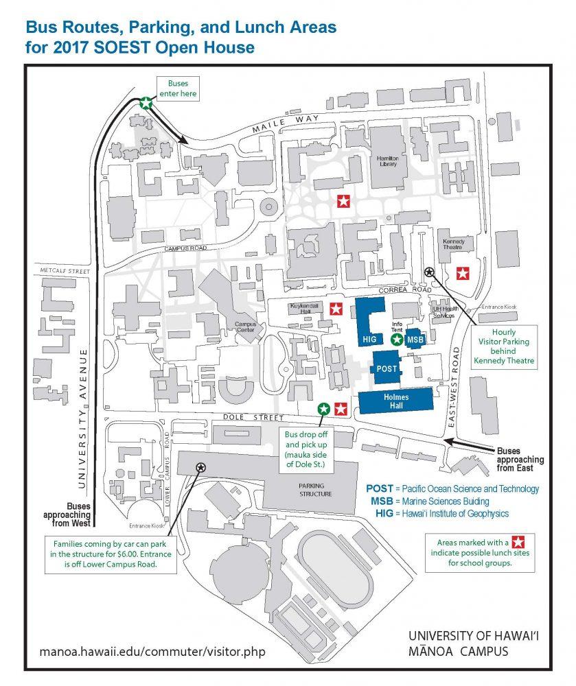 UHM campus map