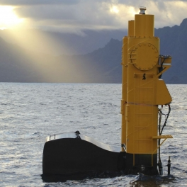 Photo of Azura wave energy device