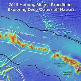 NOAA Okeanos Explorer cruise map