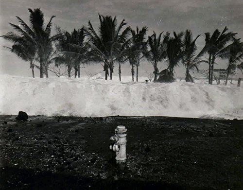 Photo of 1946 Hilo tsunami.