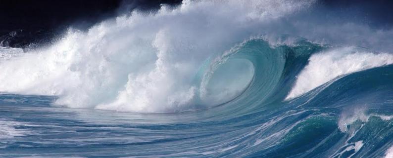 Wave photo by Steven Businger