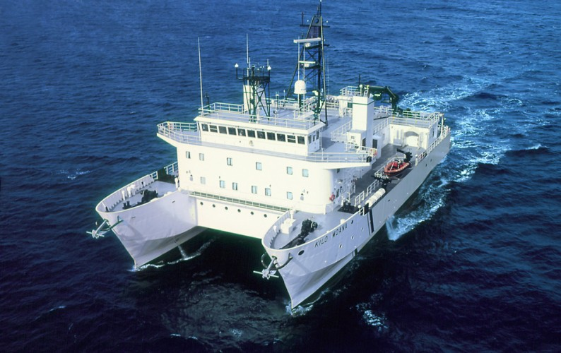 SOEST's Research Vessel Kilo Moana
