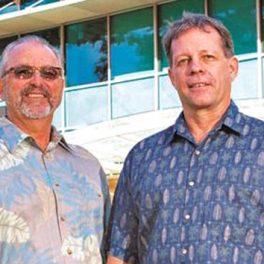 David Karl, left, and Edward DeLong