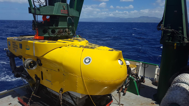 Image of HURL submersible Pisces V